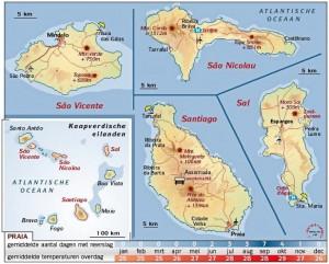 kaapverdische eilanden klimaat